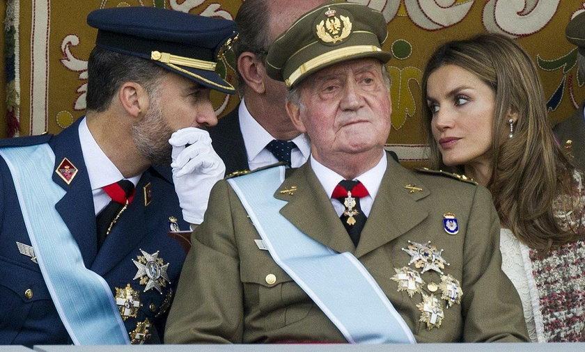 Juan Carlos był królem Hiszpanii przez prawie 40 lat