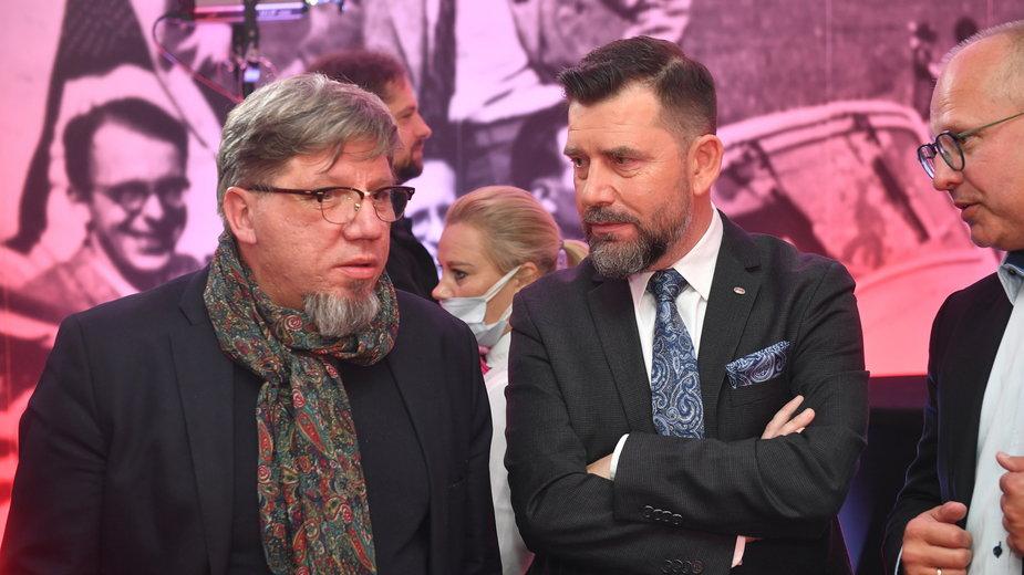 Witold Kołodziejski (z lewej)