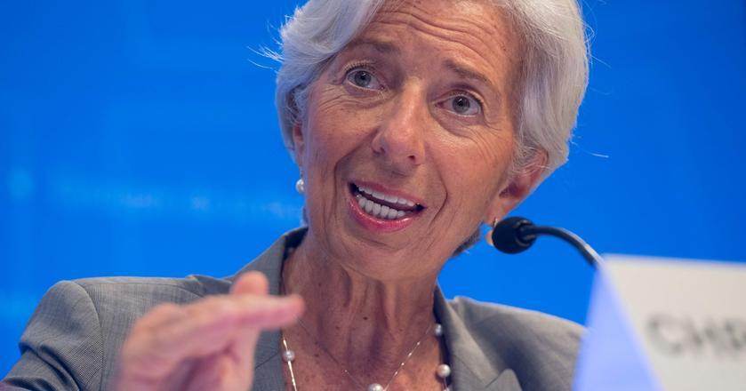 Christine Lagarde, szefowa Międzynarodowego Funduszu Walutowego mówi o kryptowalutach