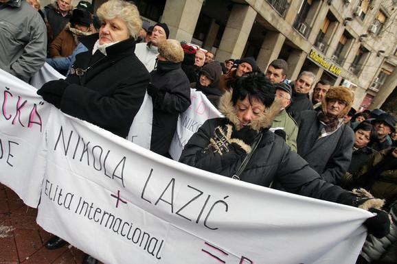 Oštećeni građani su danima uzalud protestovali