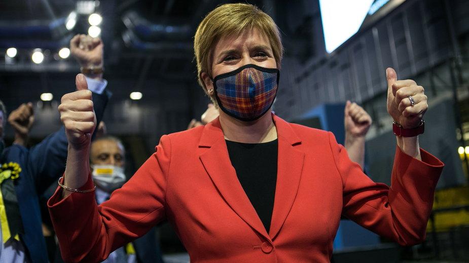 Premier Szkocji i liderka SNP Nicola Sturgeon