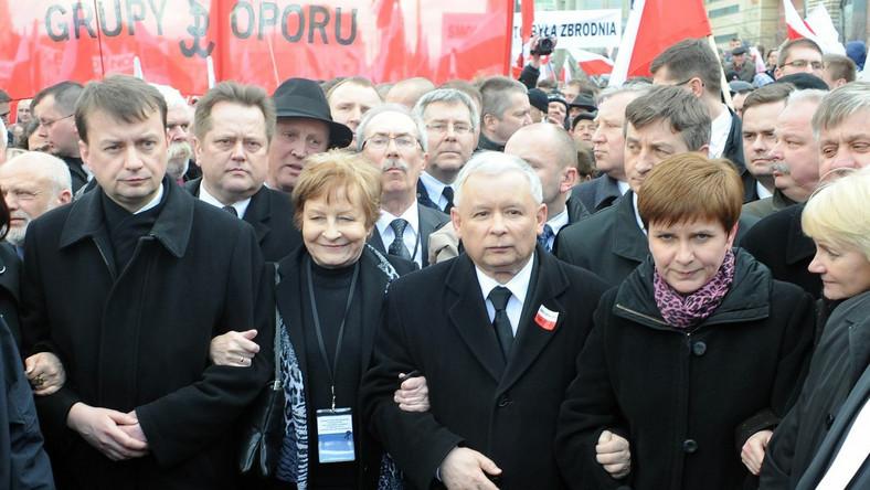 Politycy PiS na inauguracji Ruchu Społecznego im. Lecha Kaczyńskiego