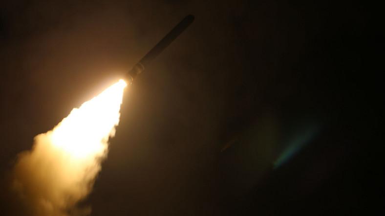 Nocny atak na Syrię
