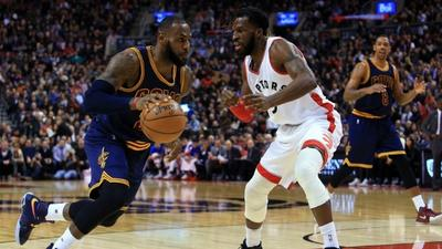 LeBron stops the rot as Cavs hold off Raptors