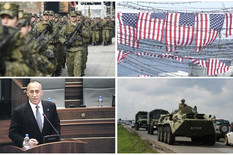 (UŽIVO) NAPETO NA KOSOVU Glasanje o vojsci u toku, KFOR i KPS blokirali most u Mitrovici, HELIKOPTERI NAD PRIŠTINOM