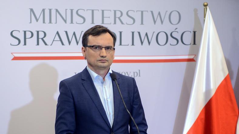 Zbigniew Ziobro chce ukarania sędziego z Nysy