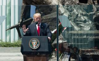 Trump: Odwiedzam sojusznika, chcę pokazać was jako przykład wolności