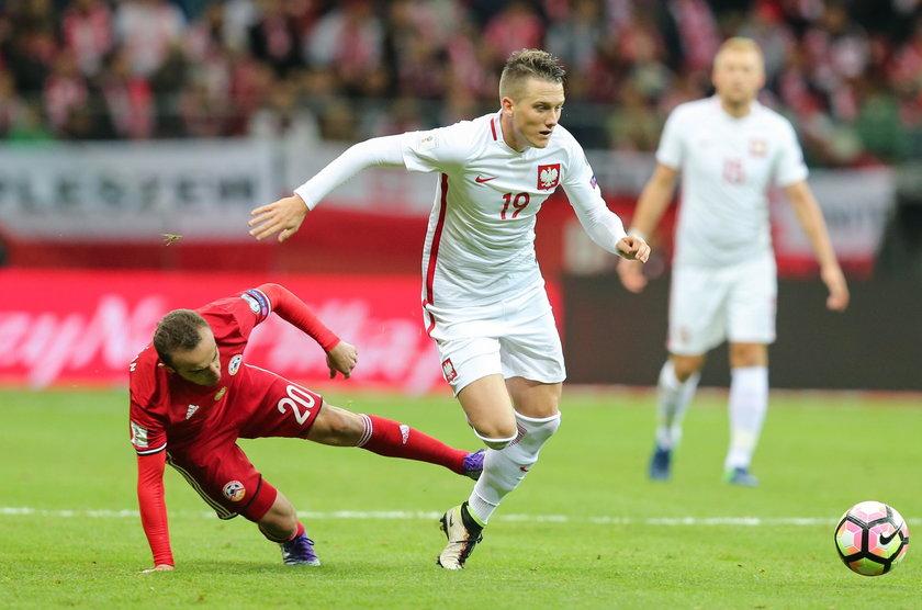 Pilka nozna. Eliminacje do MS 2018. Polska - Armenia. 11.10.2016
