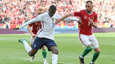 France lose injured Dembele for the rest of Euro 2020