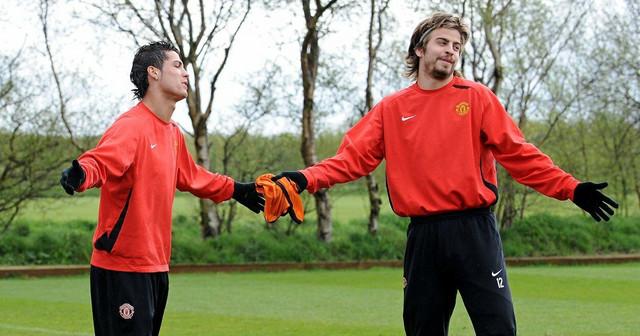 Žerar Pike i Kristijano Ronaldo