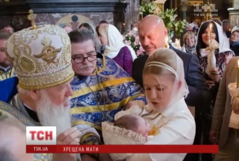 Chrzest wnuczki Julii Tymoszenko, Jurij Ziukow w środku