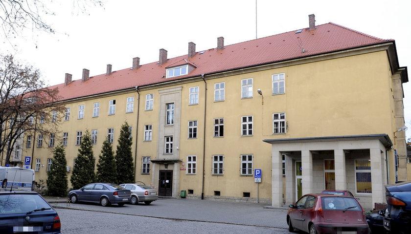 Komisariat Wrocław Fabryczna przy ul. Połbina na wrocławskim Kozanowie