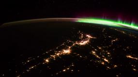 Piękny widok! Zorza polarna obserwowana z kosmosu