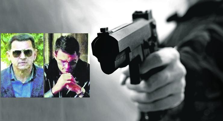 PUCANJ black-white-man-shot-gun-450w-527512129