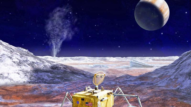 NASA poszuka życia na księżycu Jowisza