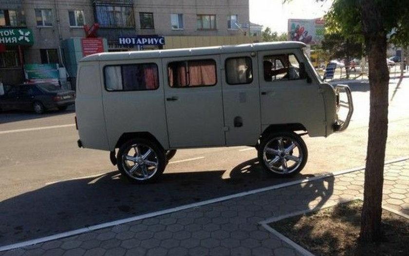 Samochód własnej konstrukcji?