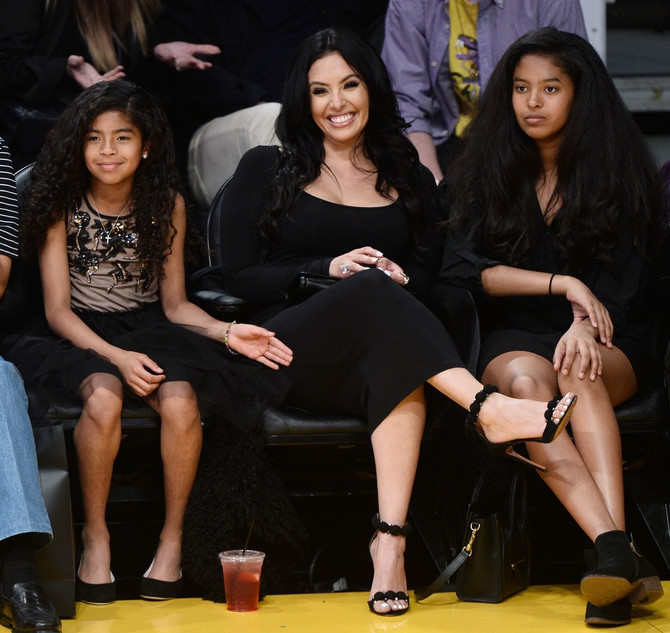Điana sa mamom  Vanesom i sestrom Natalijom
