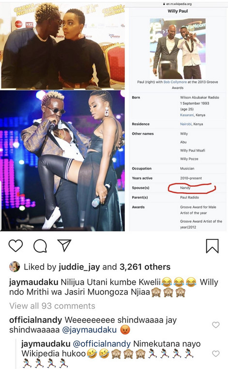 Nandy on Dating Willy Paul