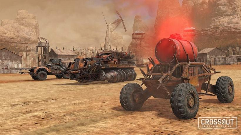 gameplanet Crossout