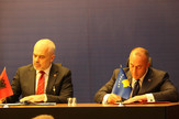 Edi Rama, Ramuš Haradinaj, Peć