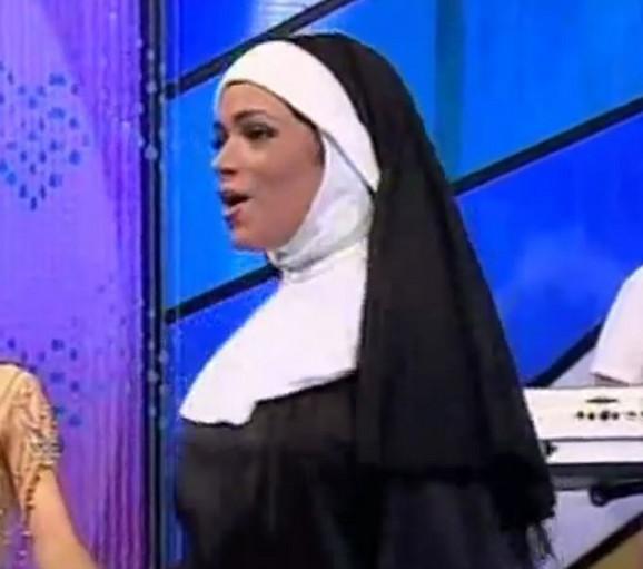 Dunja Ilić kao kaluđerica