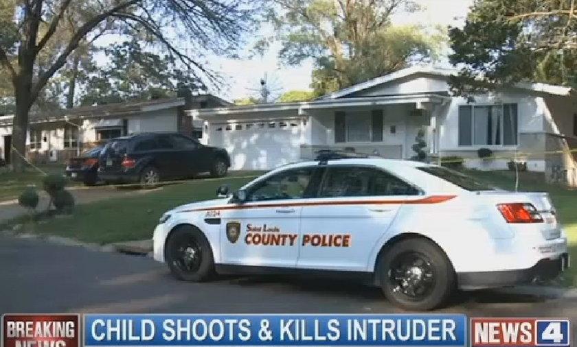 11-latek zastrzelił włamywacza
