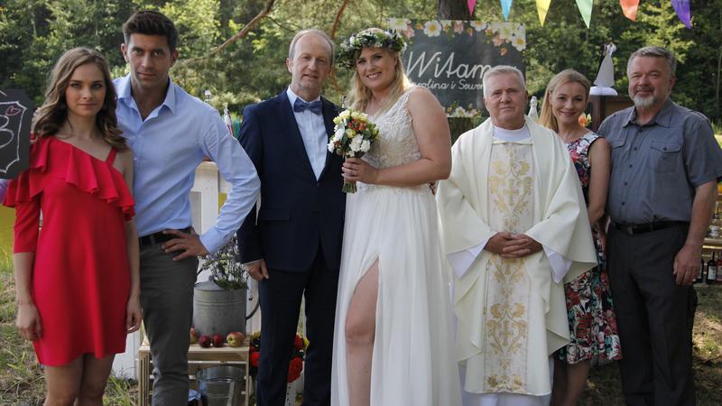 """""""Pierwsza miłość"""" - ślub Kazanowej i Seweryna"""