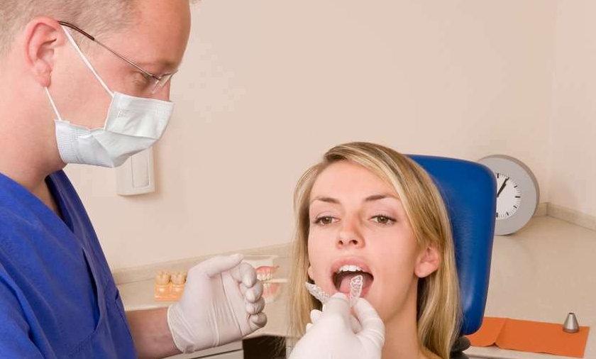 Tarczyca cierpi u dentysty