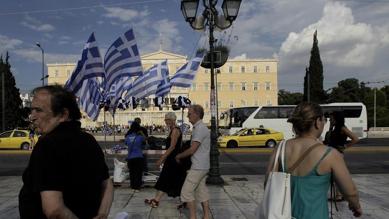 Budynek greckiego parlamentu