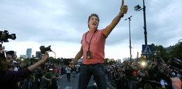 Hasselhoff zajechał bryką do Polski