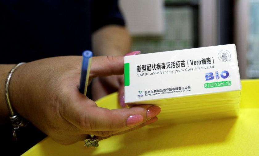 WHO zdecydowało w sprawie chińskiej szczepionki