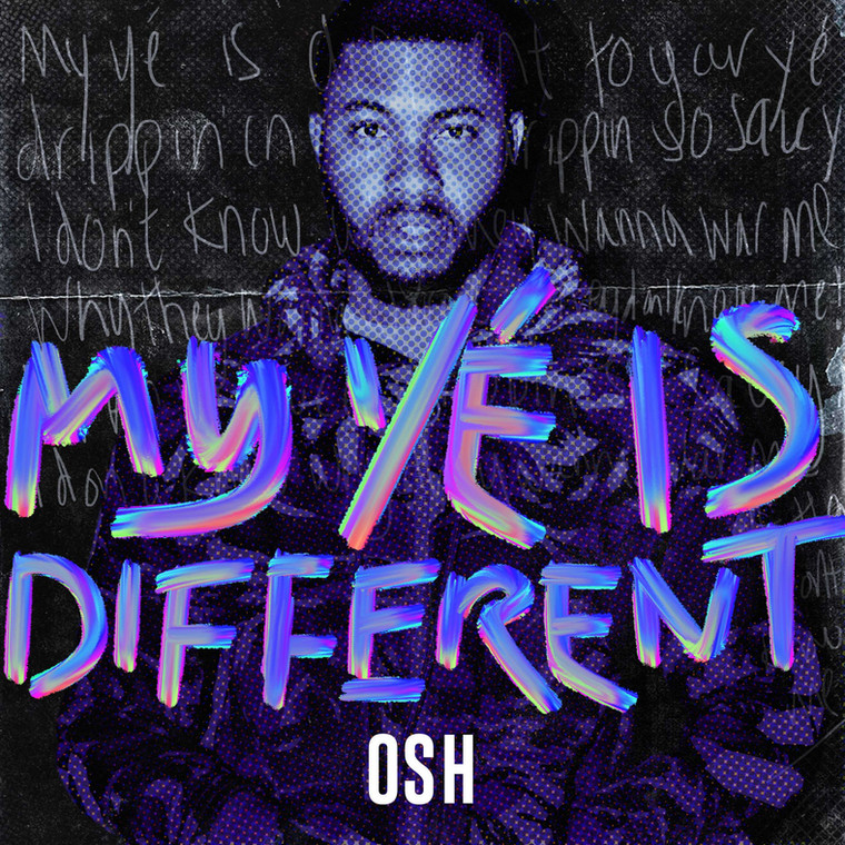 Osh tapped into the Burna Boy trend to release 'My Ye is different' [Youtube/Osh]