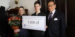 Prezydent Rzeszowa nagrodził 14-letniego bohatera
