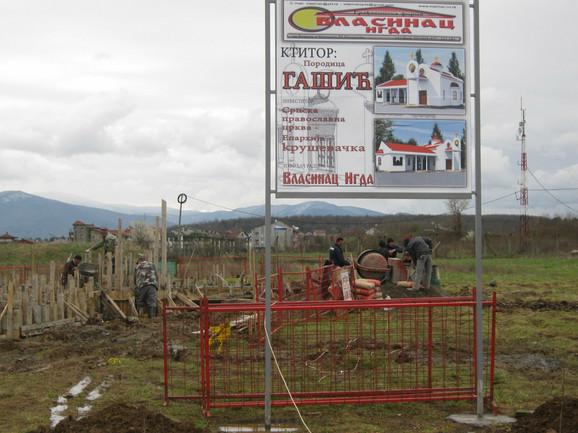 Porodica Gašić je pronašla i platila izvođača radova