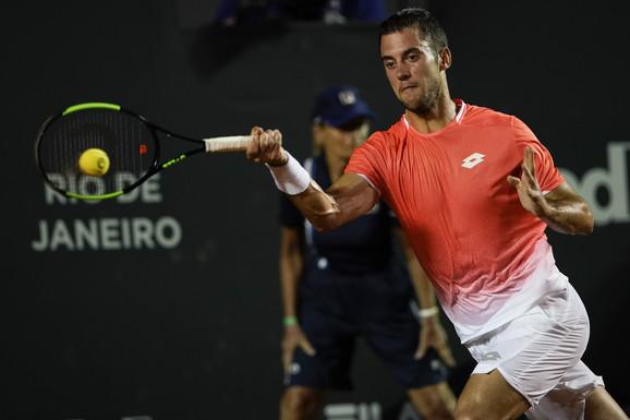 Laslo Đere na turniru u Rio de Žaneiru