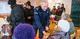 Piękny gest. Policjanci pomogli potrzebującym