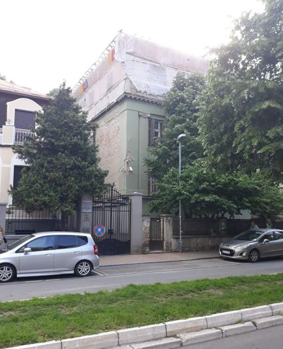 Sporna nadogradnja kuće u Krunskoj 79