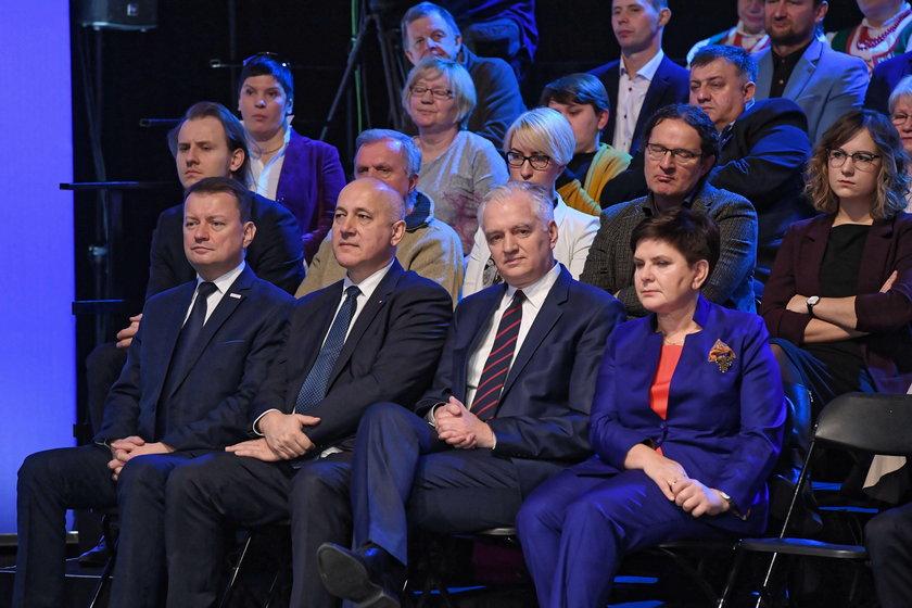 Beata Szyd?o, Jaros?aw Gowin, Joachim Brudziski, Mariusz B?aszczak
