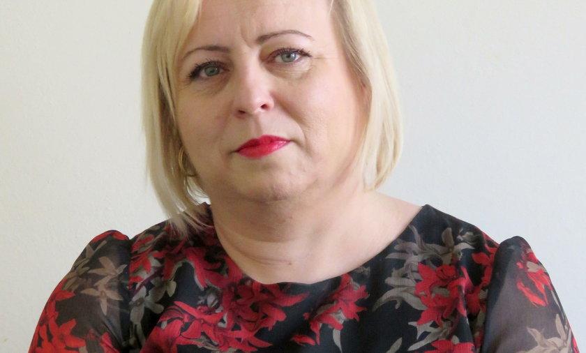 Mariola Pytka z ZUS w Lublinie
