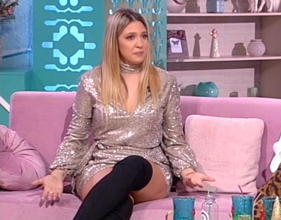 Milica Todorović od pre mesec dana