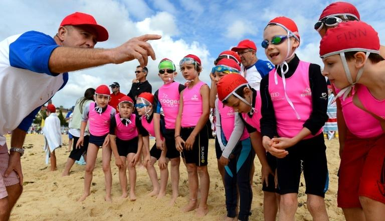 Volunteer lifesaving is deeply ingrained in Australian beach culture and youngsters join surf schools from an early age to learn the skills required