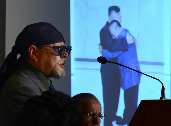 Na predstavljanju knjige u Tokiju 2012.