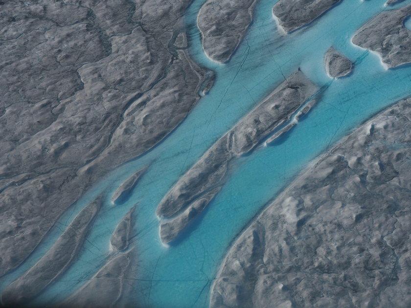 Grenlandia straciła miliardy ton lodu. Naukowcy ostrzegają