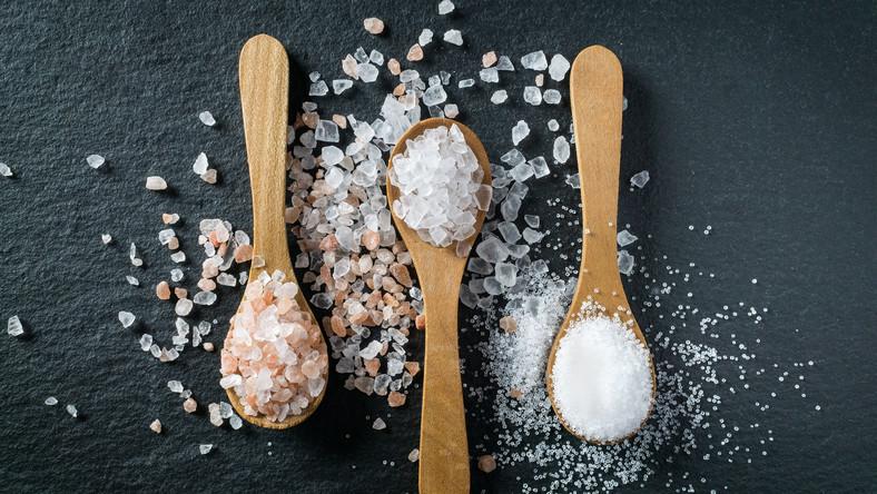 Sól morska, himalajska i kuchenna