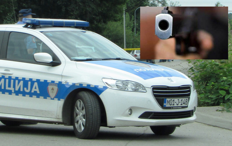 policija pistolj