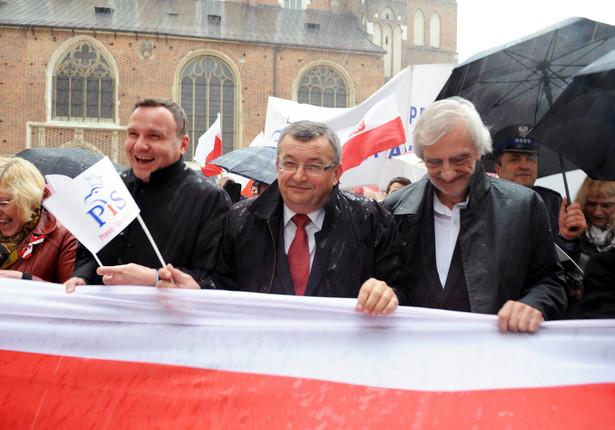 Marsz PiS w Krakowie