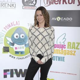Dawno niewidziana Katarzyna Maciąg i inne gwiazdy przekonują, że pomaganie jest trendy