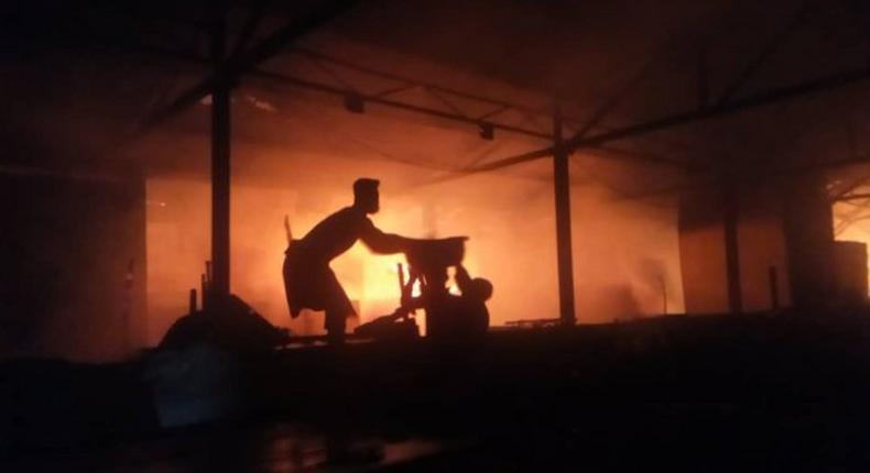 Another fire hits Asafo Market within 24 hours