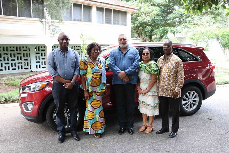 Patience Esi Pomary given new car