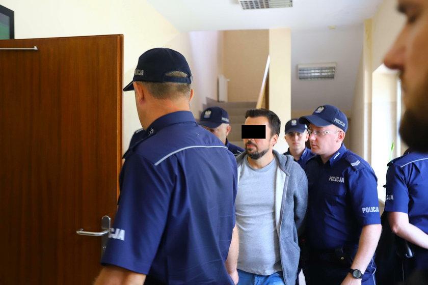 Słynny aferzysta odwiedził sąd w Kraśniku